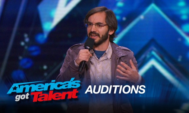 Myq Kaplan and Gary Vider audition for America's Got Talent 2015