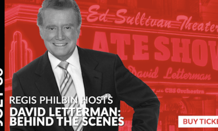 Regis Philbin to moderate Letterman panel to celebrate groundbreaking of National Comedy Center, Lucille Ball Comedy Festival