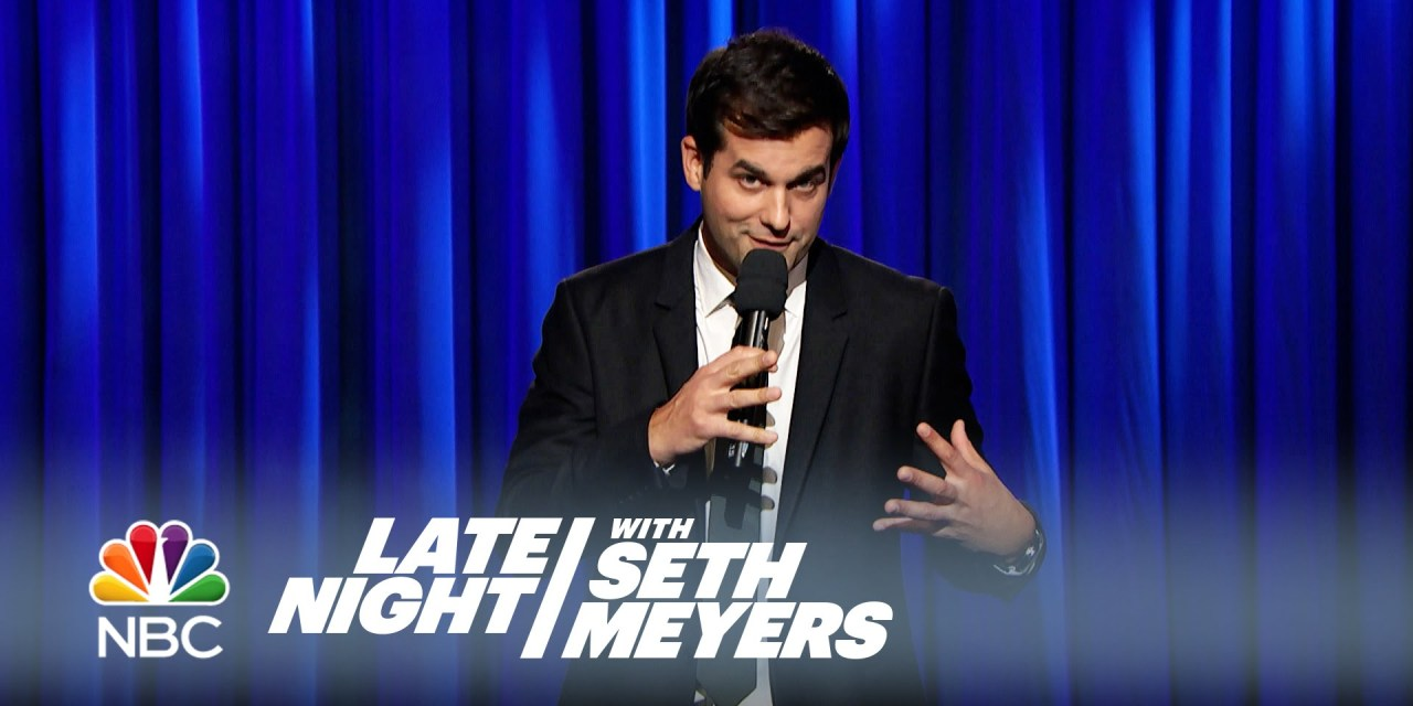 Michael Kosta on Late Night with Seth Meyers