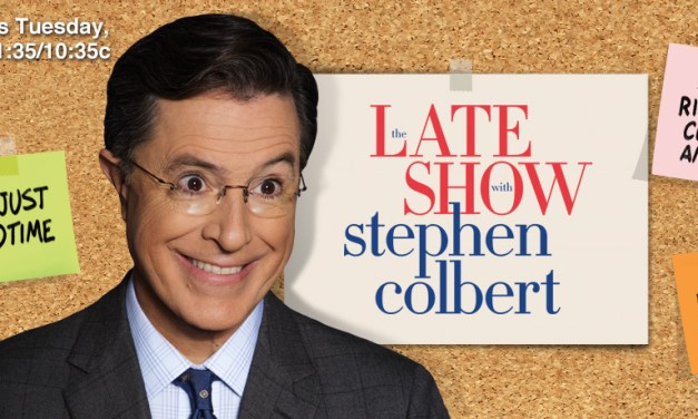 "CBS confirms Late Show with Stephen Colbert writing/producing team has that familiar ""Report"""