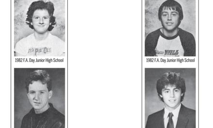 Yearbook photos for classmates Louis CK and Matt LeBlanc