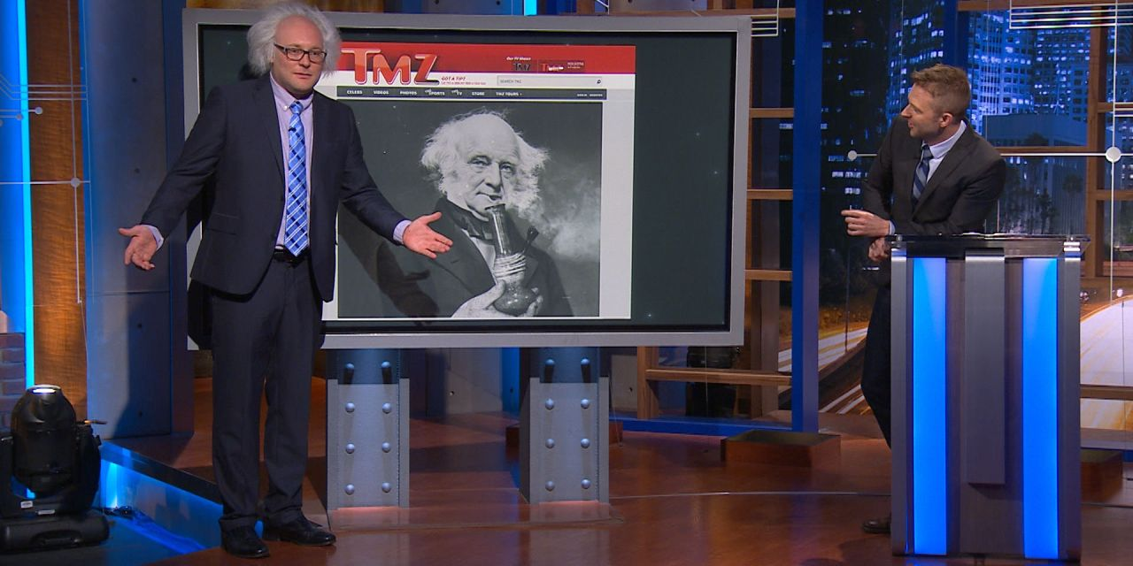 James Adomian's Bernie Sanders impersonation takes over @midnight
