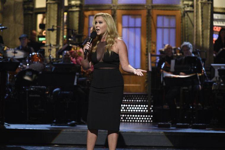 Amy Schumer's first Saturday Night Live monologue