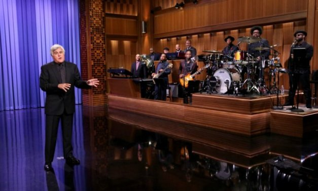 Jay Leno provides substitute monologue for The Tonight Show Starring Jimmy Fallon
