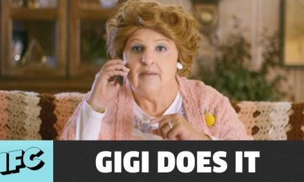 "Watch makeup artists turn David Krumholtz into 76-year-old Gigi for IFC's ""Gigi Does It"""