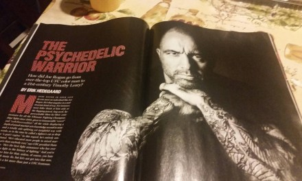 Rolling Stone's profile of Joe Rogan includes a day in his life