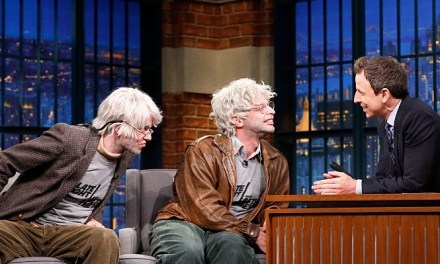 """Oh, Hello"" has its moment as Gil Faizon and George St Geegland draw rave Off-Broadway reviews, big names and hit ""Late Night"" TV"
