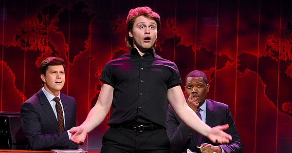 "Jon Rudnitsky's ""Dirty Dancing"" tribute on SNL"