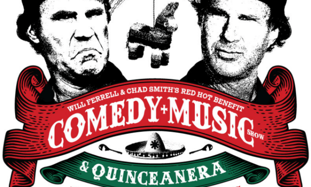 Will Ferrell and Chad Smith team up for Red Hot comedy and music benefit in Los Angeles