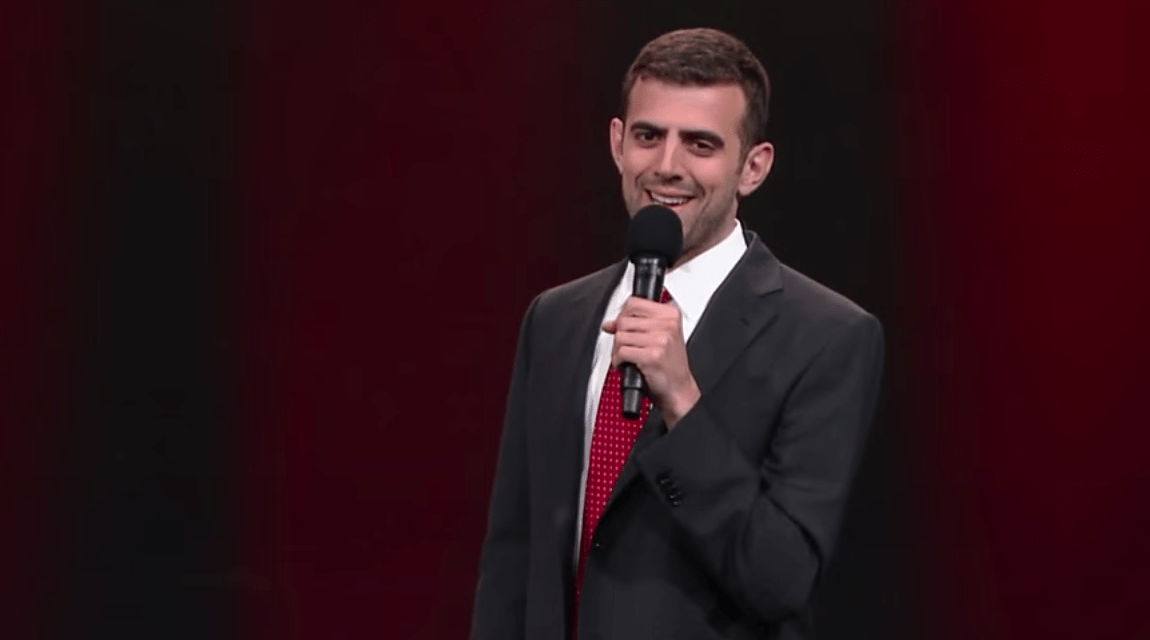 Sam Morril on The Late Show with Stephen Colbert