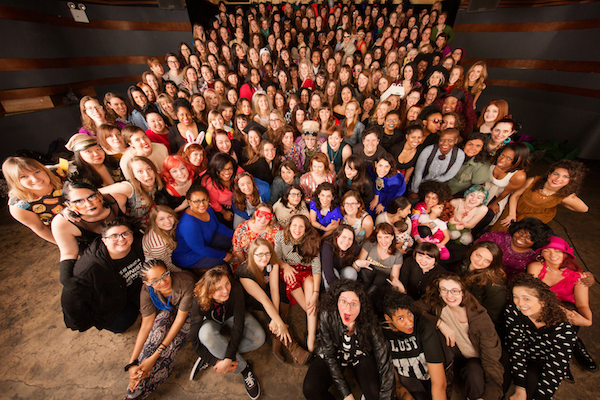 Class Photo: Women in Comedy in New York City, 2016