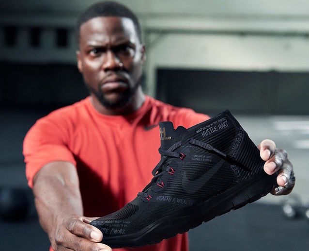 Kevin Hart releases own Nike sneaker, inks six-figure video deal with Facebook Live