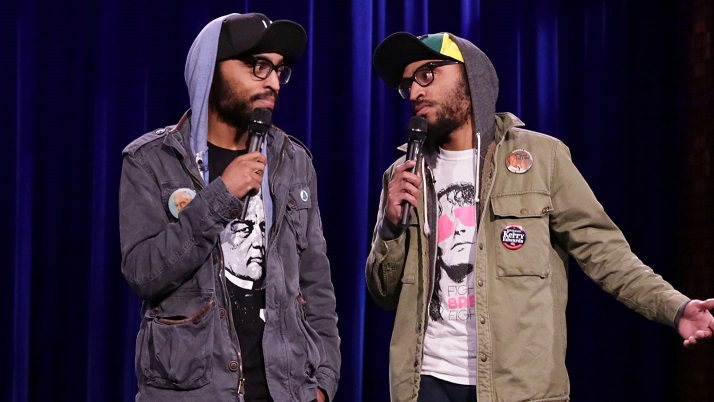 The Lucas Brothers on The Tonight Show Starring Jimmy Fallon