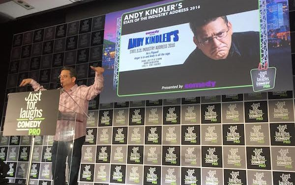 Andy Kindler's 2016 State of the Industry at Just For Laughs Montreal