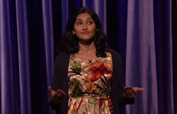 Aparna Nancherla on Conan