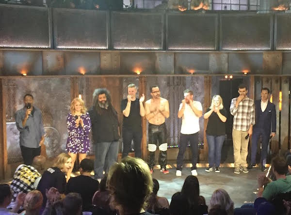 Inside the pit of Jeff Ross Presents Roast Battle on Comedy Central