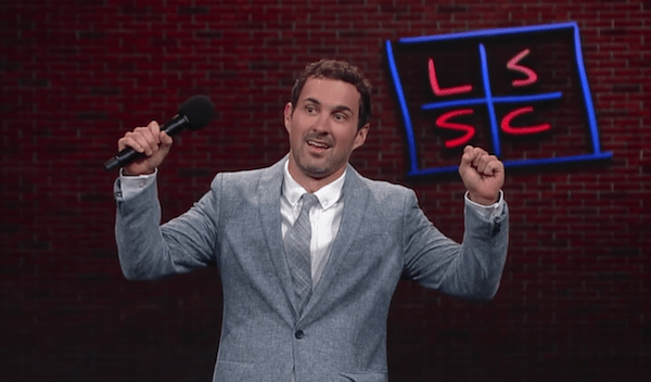 Mark Normand on The Late Show with Stephen Colbert