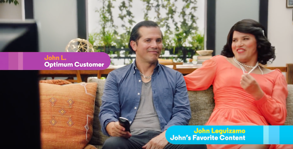 John Leguizamo for Optimum