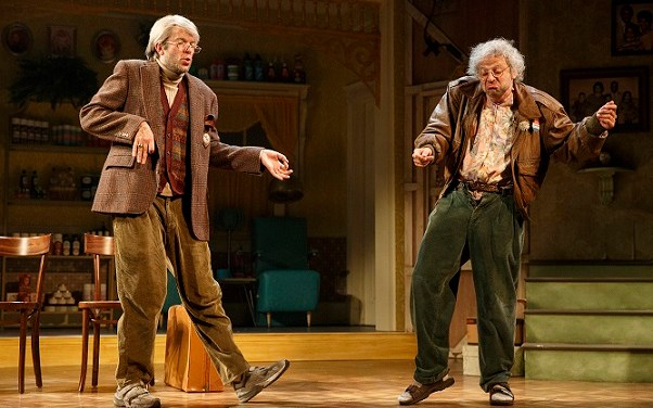 "Review: Nick Kroll and John Mulaney in ""Oh, Hello"" on Broadway"