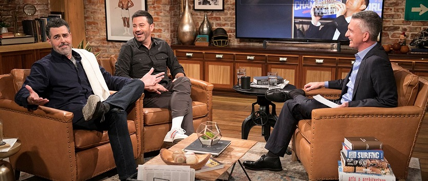 Jimmy Kimmel, Adam Carolla and Bill Simmons on the future of late-night TV, podcasting