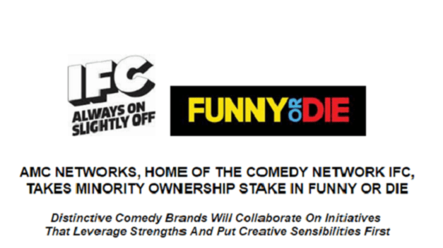 IFC takes minority ownership stake of Funny or Die