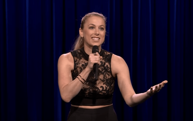 Iliza Shlesinger on The Tonight Show Starring Jimmy Fallon