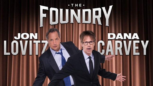 Jon Lovitz and Dana Carvey to perform in residency at The Foundry in Las Vegas during 2017