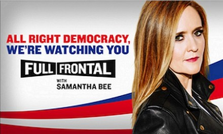 TBS renews Full Frontal with Samantha Bee through 2017, moves show to Wednesday nights