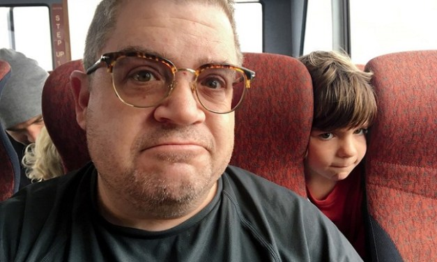 Patton Oswalt's GQ essay on suddenly becoming a single parent