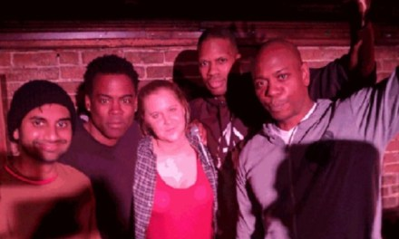 """Next time you should come"" Chris Rock on an impromptu all-star lineup at the Comedy Cellar"