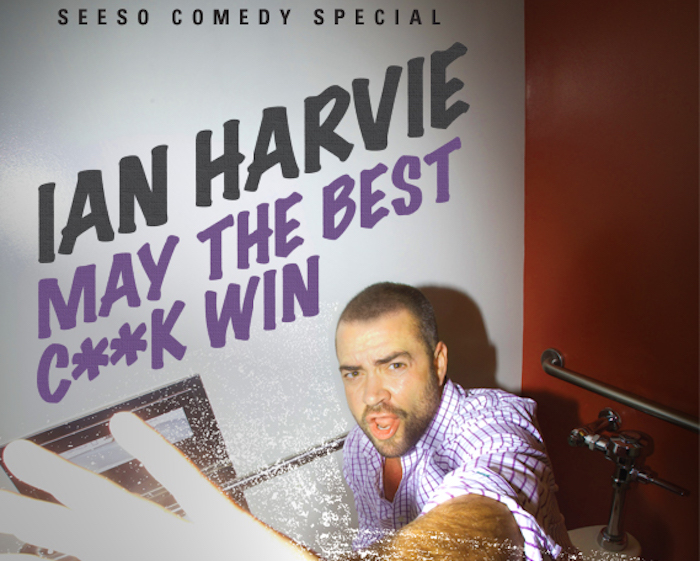 "Review: Ian Harvie, ""May the Best Cock Win,"" on Seeso"