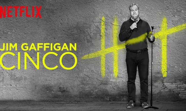 "Review: Jim Gaffigan, ""Cinco,"" on Netflix"
