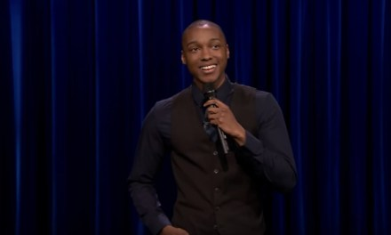 Josh Johnson's late-night TV debut on The Tonight Show Starring Jimmy Fallon