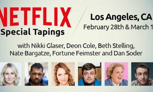 Netflix adding half-hour stand-up comedy specials from Nikki Glaser, Deon Cole, Beth Stelling, Nate Bargatze, Fortune Feimster and Dan Soder