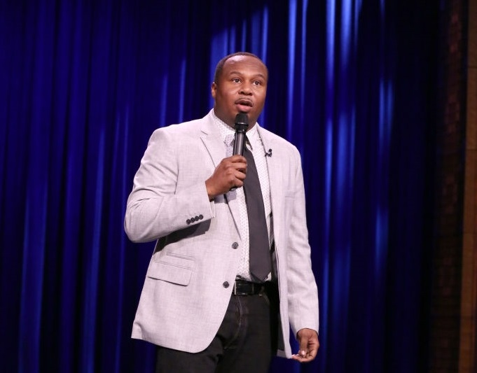 Roy Wood Jr. on The Tonight Show Starring Jimmy Fallon