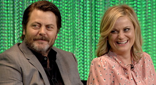 amy poehler and nick offerman to host real life parks and recreation crafts series for nbc the. Black Bedroom Furniture Sets. Home Design Ideas