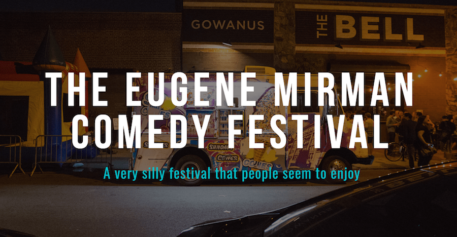 10th and final Eugene Mirman Comedy Festival planned for Brooklyn in September 2017