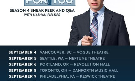 See Nathan Fielder live before the crazy fourth season of Nathan For You on Comedy Central
