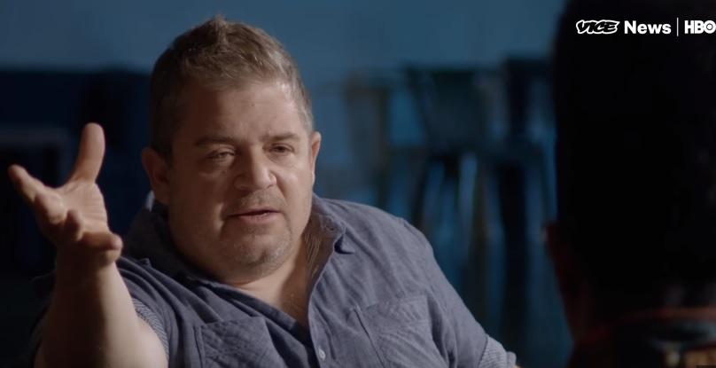 Patton Oswalt tells HBO's VICE about joke thievery