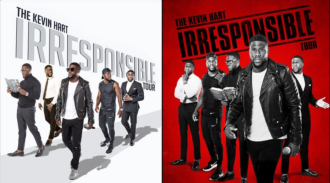 Kevin Hart Irresponsible Tour January