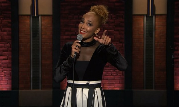 Amanda Seales on Late Night with Seth Meyers