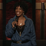Joyelle Nicole Johnson on Late Night with Seth Meyers