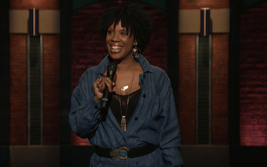 Joyelle Nicole Johnson on Late Night with Seth Meyers