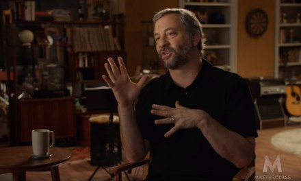 Judd Apatow offering a MasterClass in making comedy