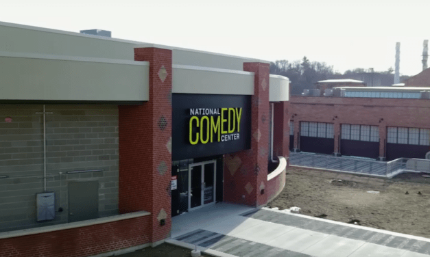 Take a sneak peek inside the National Comedy Center, opening Aug. 1, 2018, in Jamestown, NY