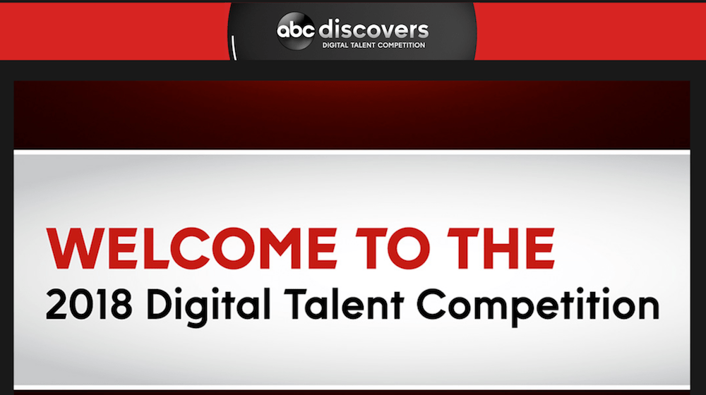 "Enter ABC Network's ""Discovers"" digital talent search"