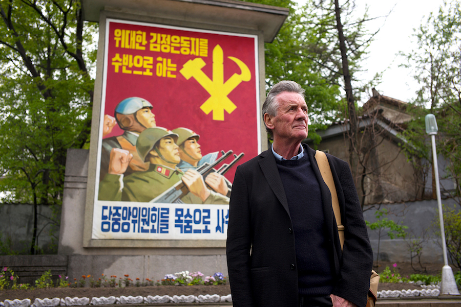 Michael Palin visited North Korea for Channel 5 travel special