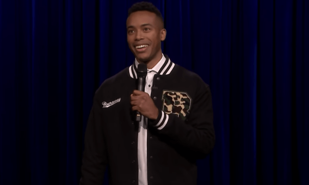 Jourdain Fisher on The Tonight Show Starring Jimmy Fallon
