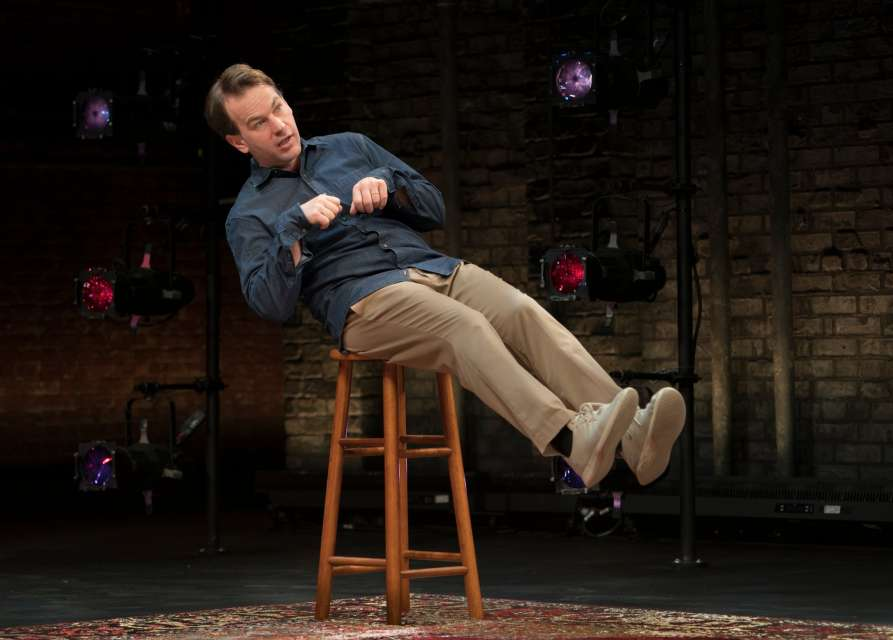 """Review: Mike Birbiglia, """"The New One"""" on Broadway"""