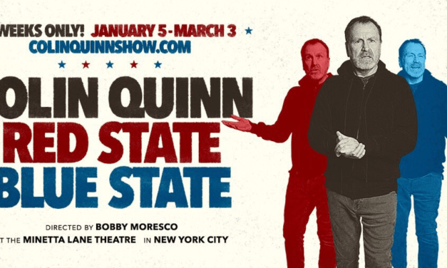 """Colin Quinn's """"Red State Blue State"""" to debut off-Broadway at Minetta Lane in January 2019"""